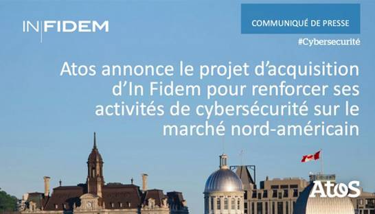 Atos acquires Montreal cybersecurity firm In Fidem