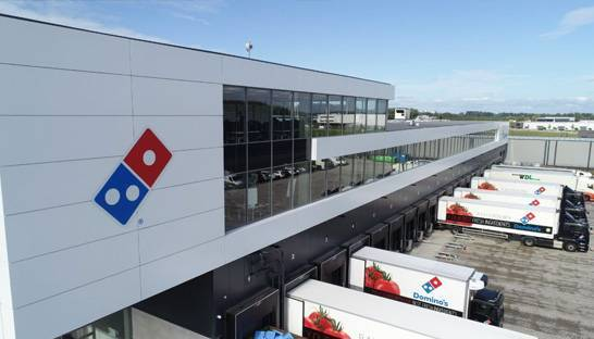 Groenewout helps Domino's Pizza with realisation of new head office