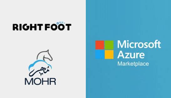 RightFoot's MOHR solution debuts on Microsoft Azure marketplace