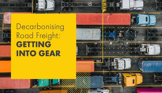 A roadmap for decarbonising the global road freight industry