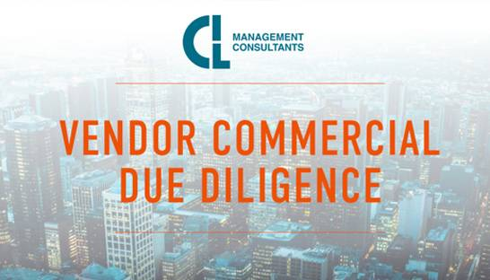 Why vendor commercial due diligence is gaining popularity