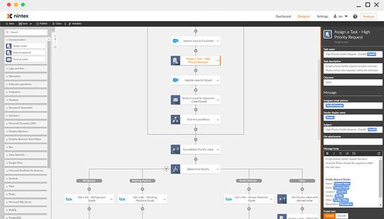 Enhance business processes with a workflow automation platform