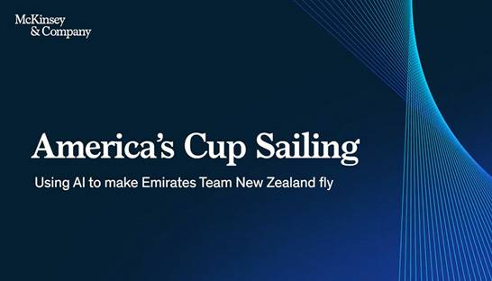 Emirates Team NZ taps McKinsey for America's Cup edge