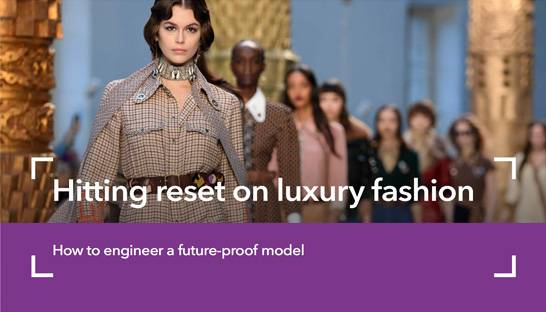 Four strategic imperatives for luxury fashion retailers
