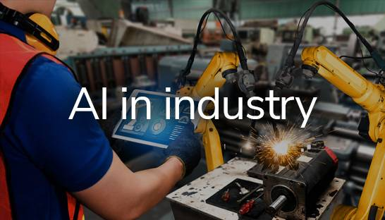 Four ways how AI technology can disrupt the industrial sector