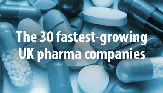 The 30 fastest-growing unquoted pharma companies in the UK