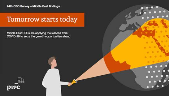 PwC CEO survey: Middle East has most positive post-pandemic outlook
