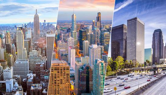 New York, Chicago, and Los Angeles top US cities for super-rich
