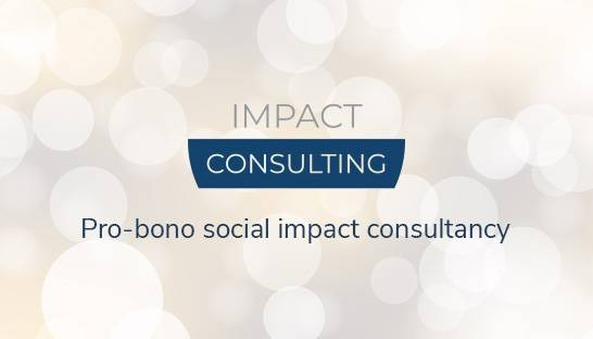 Impact Consulting: Pro-bono consultancy dedicated to social impact