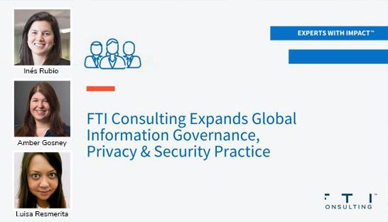 FTI Consulting adds trio to Technology division in the UK & Ireland