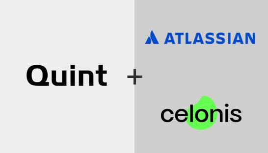 Quint named implementation partner of Atlassian and Celonis
