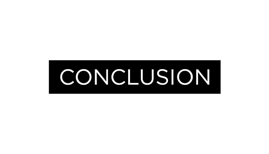 Consulting firm Conclusion